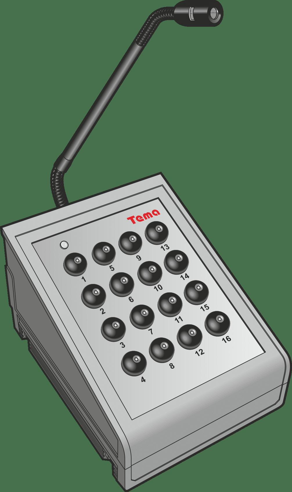 Пульт цифровой диспетчерской связи