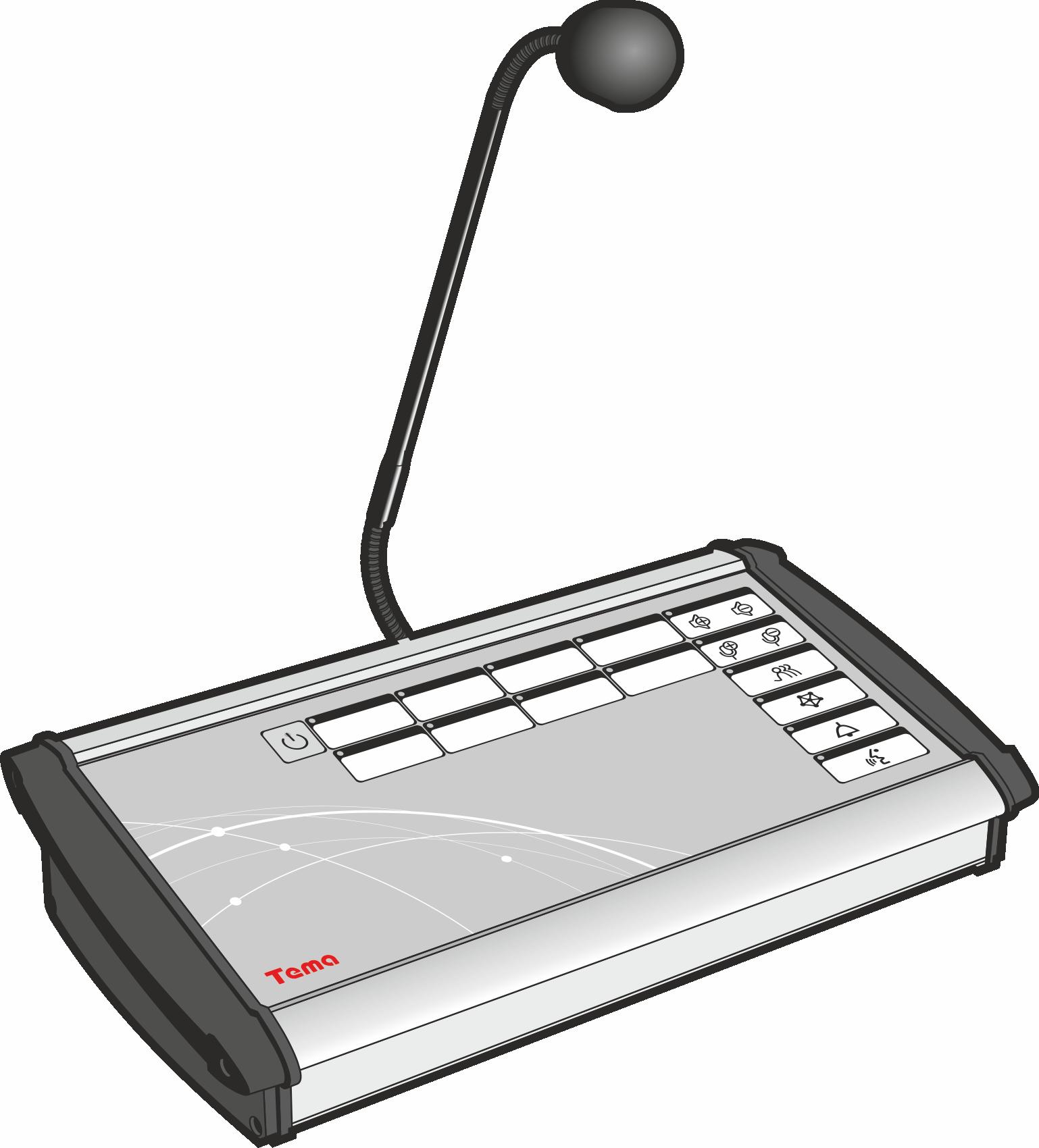 Диспетчерский пульт Tema-A82.22-220-m51