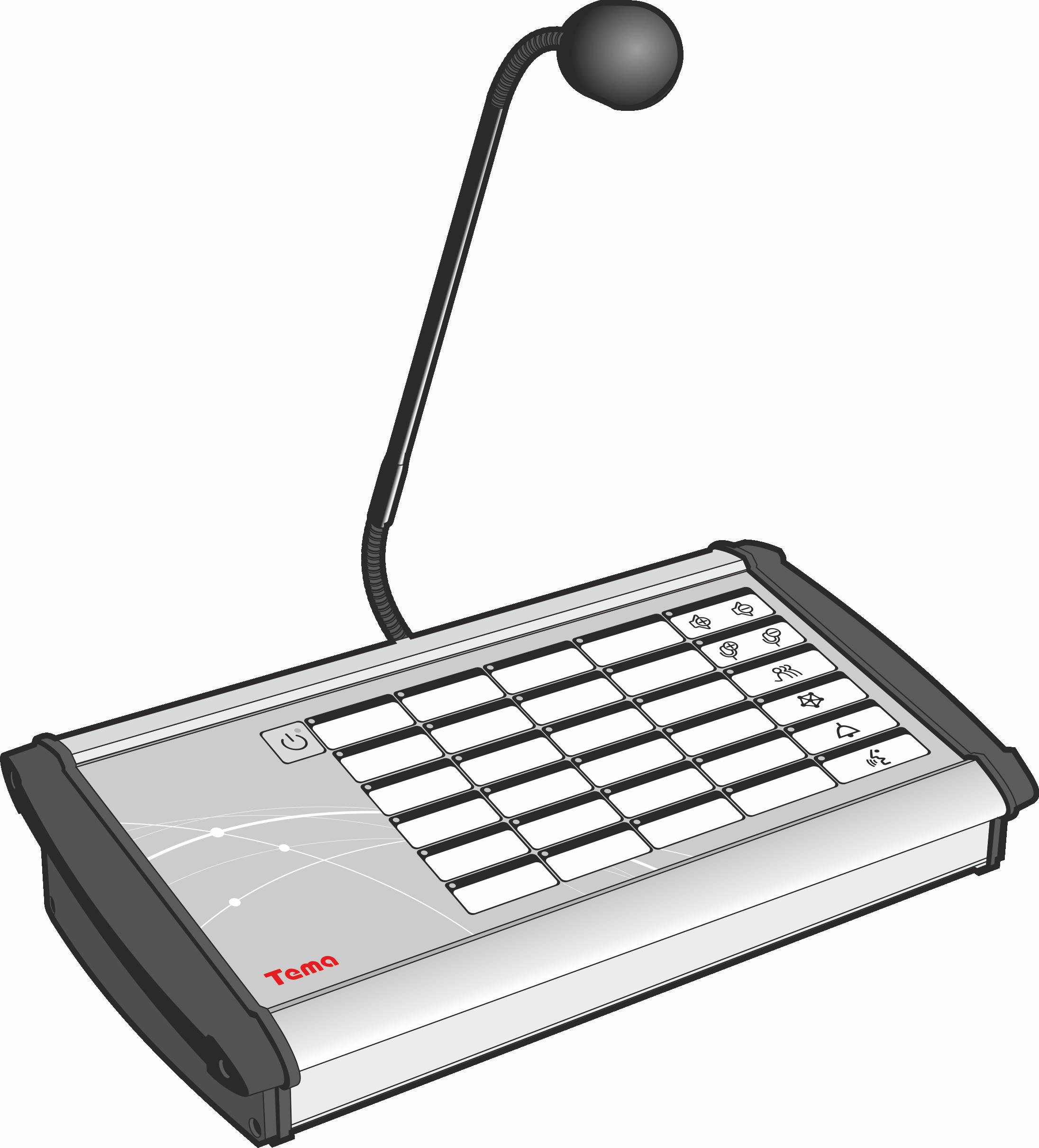 Диспетчерский пульт, Коммутатор Ряд Tema-APX24x.xx